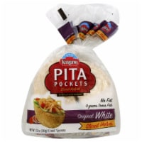 Kangaroo White Pita Pockets 10 Count