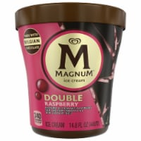 Magnum Dark Chocolate Raspberry Ice Cream