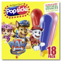 Popsicle Paw Patrol Ice Pops 18 Count