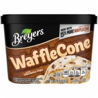 Breyers Waffle Cone with Chocolatey Chips Ice Cream