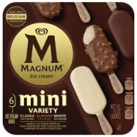 Magnum® Mini Classic Almond & White Ice Cream Bars - 6 ct / 1.85 fl oz