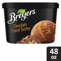 Breyers Chocolate Peanut Butter Ice Cream - 1.5 qt