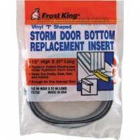 Frost King 1/2 In. x 37 In. Storm Door Bottom Seal Insert T3750