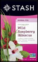 Stash Wild Raspberry Hibiscus Herbal Tea - 20 ct