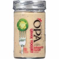 OPA by Litehouse Greek Yogurt Jalapeno Ranch Dressing - 11 oz