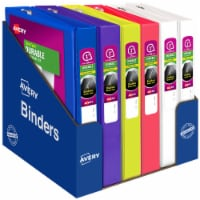 Avery Durable Clear Cover Binder - Assorted