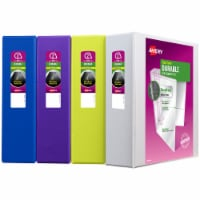 Avery Durable Clear Cover Binder - Assorted - 2 in