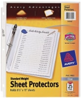 Avery Advantages Standard Weight Sheet Protectors - Clear