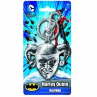 DC Comics Batman Harley Quinn Head Keychain