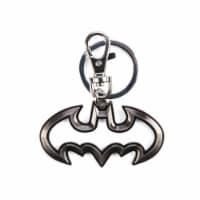 DC Batman Logo Cut Out Pewter Metal Keychain