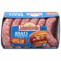 Johnsonville Original Bratwurst Party Pack 12 Count