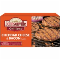 Johnsonville Grillers Cheddar Cheese & Bacon Flavored Patties