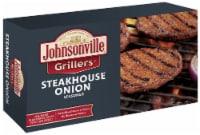 Johnsonville Grillers Steakhouse Onion Seasoned Patties