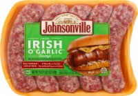 Johnsonville Irish O' Garlic Sausage Links