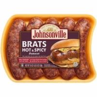 Johnsonville Hot & Spicy Bratwurst