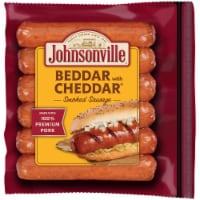 Johnsonville Beddar with Cheddar Smoked Sausages