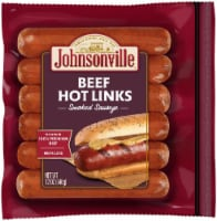 Johnsonville Beef Smoked Sausage Hot Links