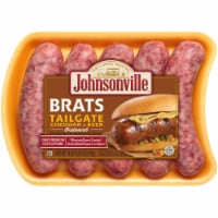 Johnsonville Brats Tailgate Cheddar & Beer Bratwurst