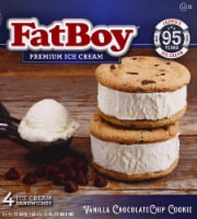 Fat Boy Chocolate Chip Ice Cream Sandwich