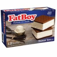 Fat Boy Vanilla Ice Cream Sandwiches