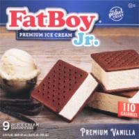 Fat Boy Vanilla  Junior Ice Cream Sandwich