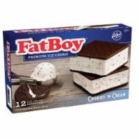 Fat Boy Cookies n Cream Ice Cream Sandwiches