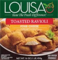 Louisa Toasted Four Cheese Ravioli - 16 oz