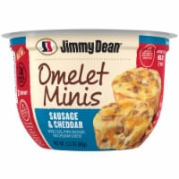 Jimmy Dean Sausage & Cheddar Mini Omelets
