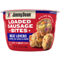 Jimmy Dean Meat Lovers Loaded Sausage Bites