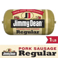 Jimmy Dean Premium Pork Regular Sausage Roll