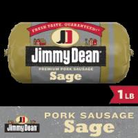 Jimmy Dean Premium Pork Sage Sausage Roll