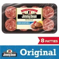 Jimmy Dean Premium All Natural Pork Sausage Patties 8 Count