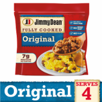 Jimmy Dean® Fully Cooked Original Pork Sausage Crumbles - 9.6 oz