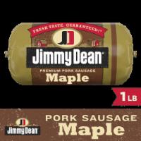Jimmy Dean Premium Pork Maple Sausage Roll