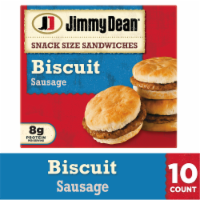Jimmy Dean Snack Size Sausage Biscuit Sandwiches