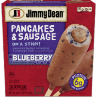 Jimmy Dean Blueberry Pancakes & Sausage on a Stick 12 Count