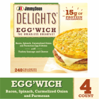 Jimmy Dean Delights Bacon Spinach & Onion Egg'wich