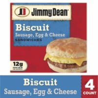 Jimmy Dean Sausage Egg & Cheese Biscuit Sandwiches