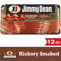 Jimmy Dean® Premium Hickory Smoked Bacon - 12 oz