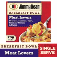 Jimmy Dean Meat Lovers Breakfast Bowl Frozen Meal