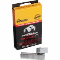 Bostitch Powercrown Hammer Tacker Staple, 9/16 In. (1000-Pack) Pack of 5 - 5
