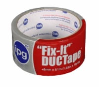 IPG Fix-It 1.88 in. W x 10 yd. L Silver Duct Tape - Case Of: 1; - Count of: 1