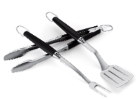 Weber Stainless Steel Barbecue Tool Set - 3 pc
