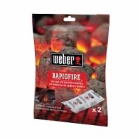 Weber Grill Fire Starter 2 pk - Case Of: 24; - Case of: 24