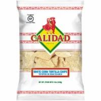 Calidad White Corn Tortilla Chips
