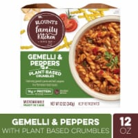 Blount's Family Kitchen Gemelli & Peppers with Plant-Based Crumbles - 12 oz