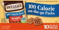 Snyder's Snaps Pretzels 100 Calorie On-The-Go Packs