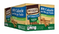 Snyder's of Hanover 100 Calorie Stick Tray Pack