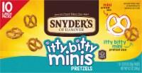 Snyder's of Hanover Itty Bitty Mini Pretzels
