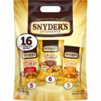 Snyder's of Hanover Seasoned Pieces On-The-Go Pretzel Variety Packs